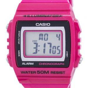 Casio Illuminator Chronograph Alarm Digital W-215H-4AV Men's Watch