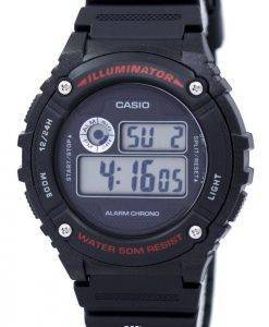Casio Sports Illuminator Alarm Chrono Digital W-216H-1AV Men's Watch