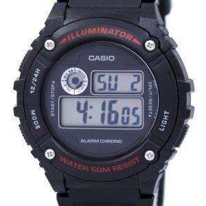 Casio Sports Illuminator Alarm Chrono Digital W-216H-1AV Men's Watch