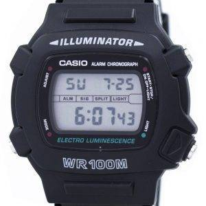 Casio Illuminator Electro Luminescence Chronograph Alarm W-740-1V Men's Watch