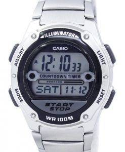 Casio Illuminator Countdown Timer Digital W-756D-1AV Men's Watch