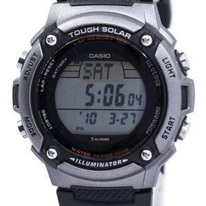 Casio Tough Solar Illuminator Lap Memory 120 Digital W-S200H-1AV Men's Watch