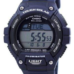 Casio Illuminator Tough Solar Lap Memory Alarm Digital W-S220-2AV Men's Watch
