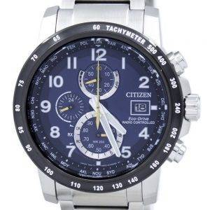 Citizen Eco-Drive Radio Controlled Chronograph AT8124-91L Men's Watch