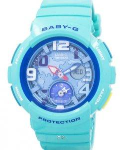 Casio Baby-G World Time Dual Dial Analog Digital BGA-190-3B Women's Watch