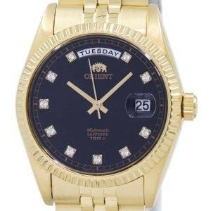Orient Automatic Japan Made Diamond Accent EV0J001B Men's Watch