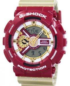 Casio G-Shock Limited Edition Analog Digital Bold Color GA-110CS-4A Mens Watch