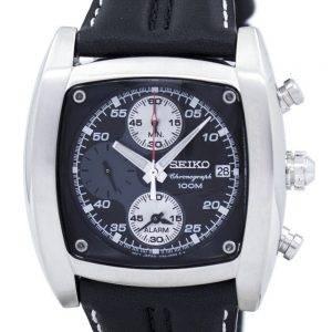 Seiko Chronograph Alarm Quartz SNAB03 SNAB03P1 SNAB03P Men's Watch