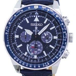 Seiko Prospex Solar Chronograph SSC609 SSC609P1 SSC609P Men's Watch