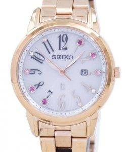 Seiko Solar Japan Made Diamond Accent SUT302 SUT302J1 SUT302J Women's Watch
