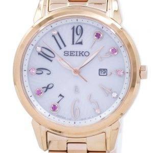 Seiko Solar Japan Made Diamond Accent SUT302 SUT302J1 SUT302J Women's Watch