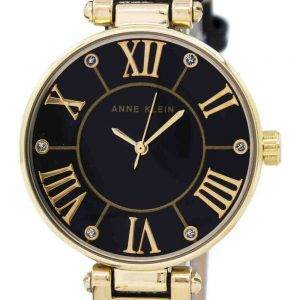 Anne Klein Quartz Diamond Accent 1396BMBK Women's Watch
