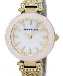 Anne Klein Quartz Swarovski Crystal 1906PMGB Women's Watch