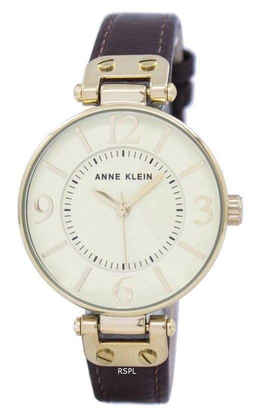 Anne Klein Quartz 9168IVBN Women's Watch