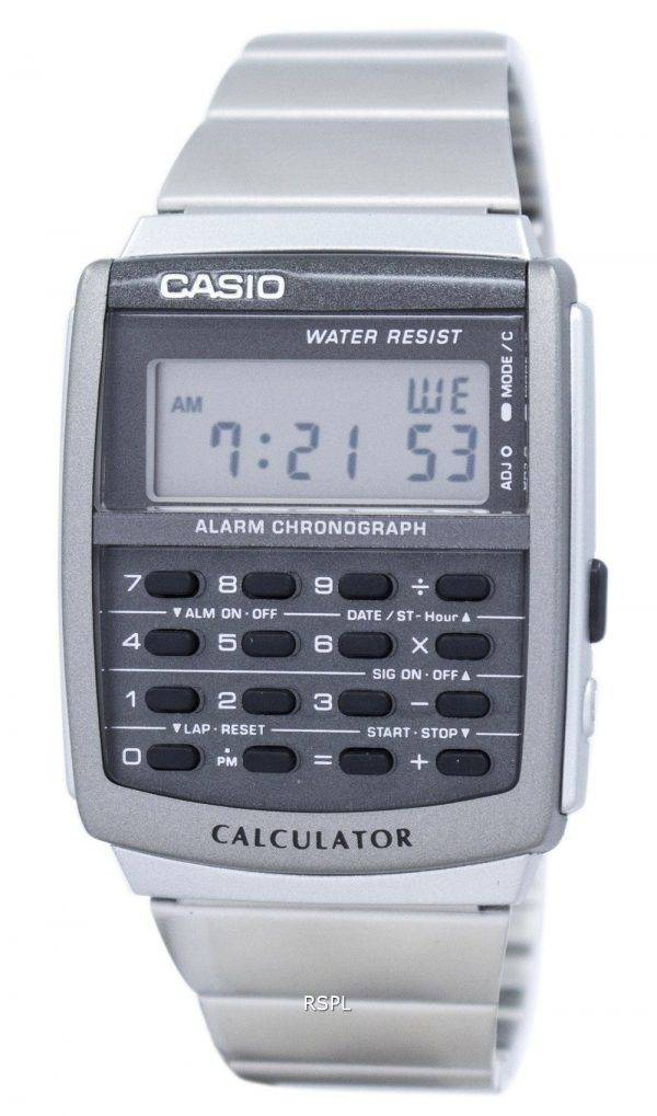 Casio Classic Quartz Calculator CA-506-1DF CA506-1D Men's Watch