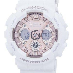 Casio G-Shock Shock Resistant World Time Analog Digital GMA-S120MF-7A2 Men's Watch