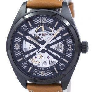 Hamilton Khaki Field Automatic Skeleton H72585535 Men's Watch