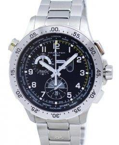 Hamilton Khaki Aviation Worldtimer Chronograph Quartz H76714135 Men's Watch