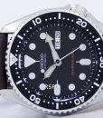 Seiko Automatic Diver's 200M Ratio Dark Brown Leather SKX007K1-LS11 Men's Watch 5