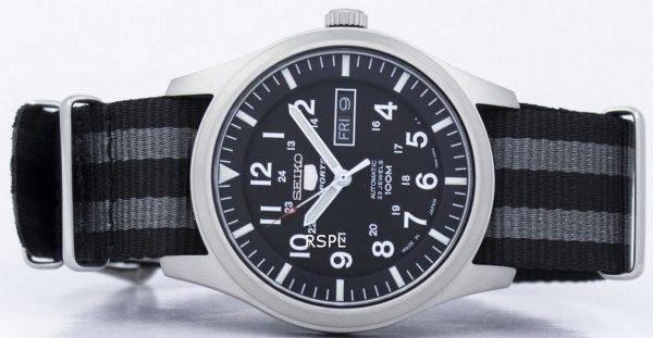 Seiko 5 Sports Automatic Japan Made NATO Strap SNZG15J1-NATO1 Men's Watch
