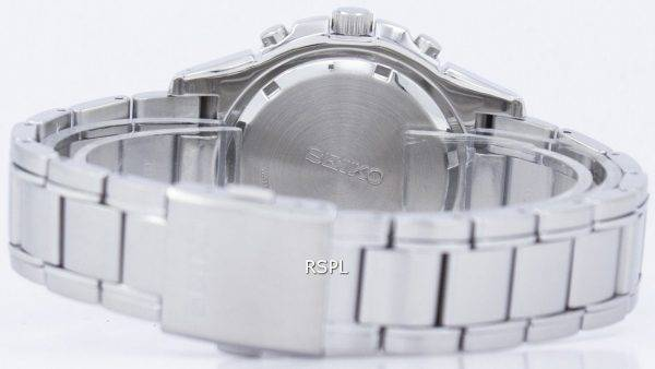 Seiko Solar Alarm Chronograph SSC087P1 SSC087 SSC087P Mens Watch