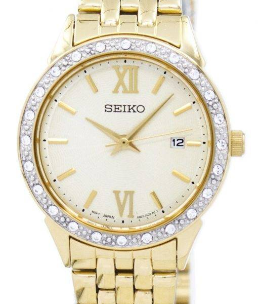 Seiko Quartz Diamond Accent SUR688 SUR688P1 SUR688P Women's Watch