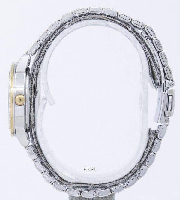 Seiko Quartz Diamond Accent SUR690 SUR690P1 SUR690P Women's Watch
