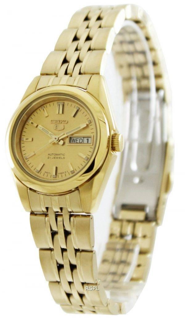Seiko 5 Automatic 21 Jewels SYMA38 SYMA38K1 SYMA38K Women's Watch