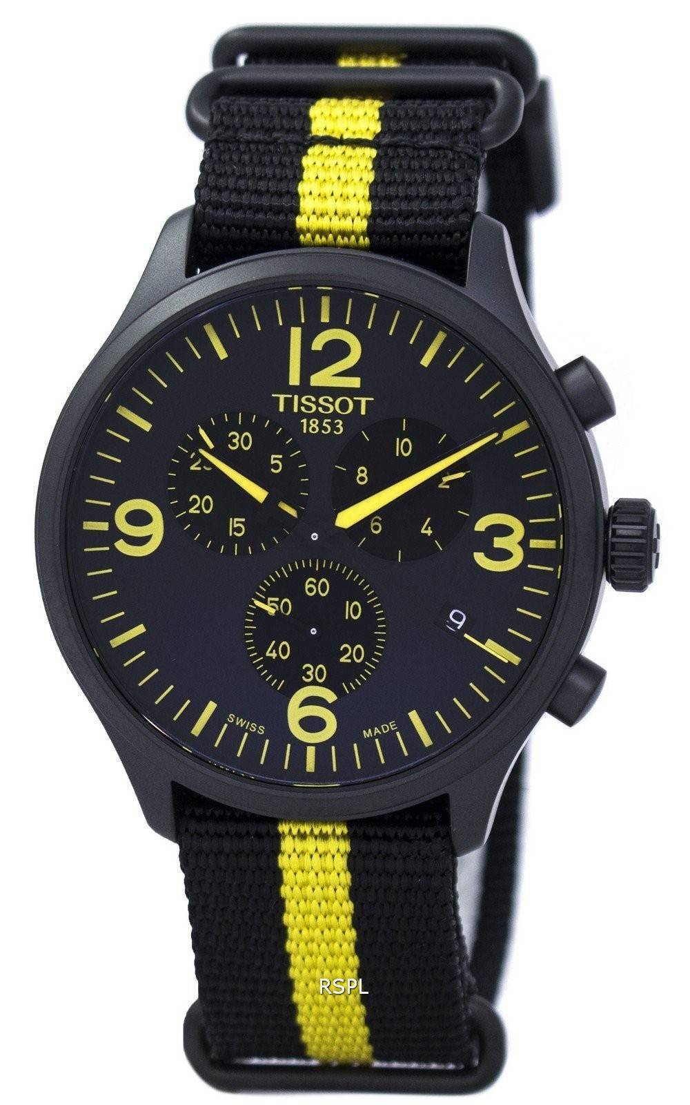 Tissot chrono xl tour de france special edition t1166173705700 men 39 s watch for Watches of france
