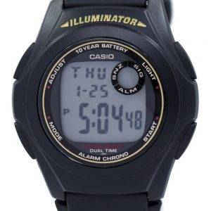 Casio Illuminator Dual Time Alarm Chrono F-200W-9ASDF F200W-9ASDF Men's Watch