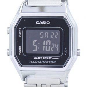 Casio Vintage Illuminator Alarm Digital LA680WA-1BDF Women's Watch