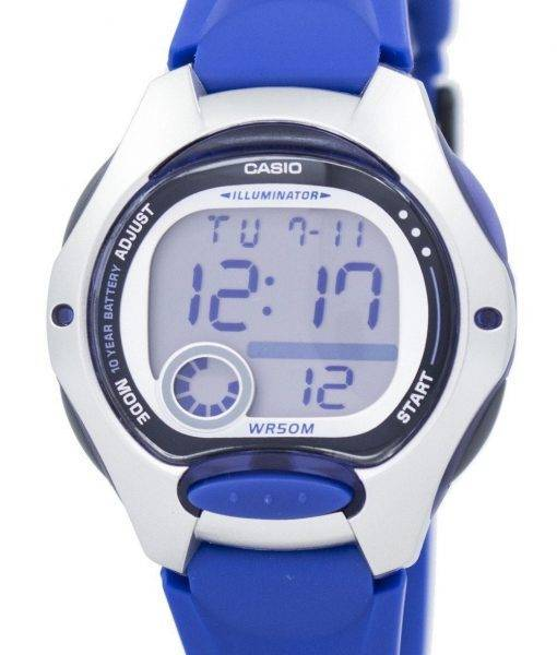 Casio Illuminator Dual Time Digital LW-200-2AVDF LW200-2AVDF Women's Watch