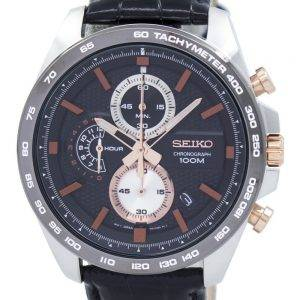 Seiko Chronograph Quartz Tachymeter SSB265 SSB265P1 SSB265P Men's Watch