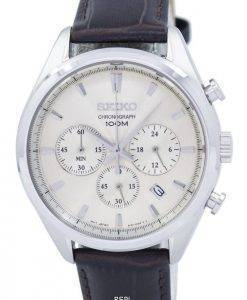 Seiko Classic Chronograph Quartz SSB293 SSB293P1 SSB293P Men's Watch