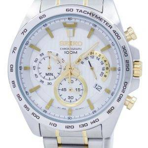 Seiko Chronograph Quartz Tachymeter SSB309 SSB309P1 SSB309P Men's Watch