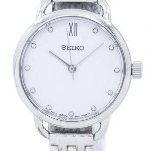 Seiko Analog Quartz Diamond Accent SUR697 SUR697P1 SUR697P Women's Watch