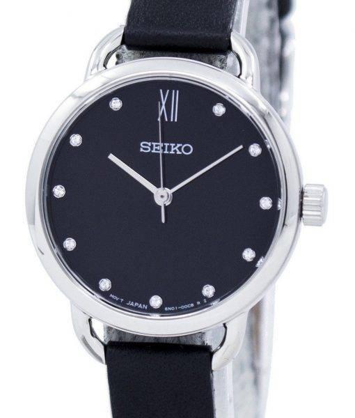 Seiko Analog Quartz Diamond Accent SUR699 SUR699P1 SUR699P Women's Watch