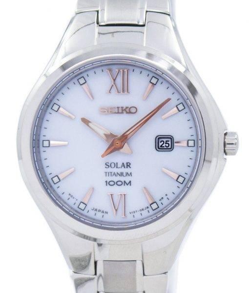 Seiko Titanium Solar SUT271 SUT271P1 SUT271P Women's Watch