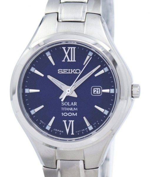 Seiko Titanium Solar SUT273 SUT273P1 SUT273P Women's Watch