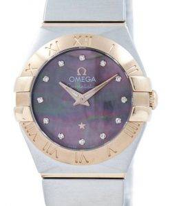 Omega Constellation Tahiti Quartz Diamond Accent 123.20.24.60.57.005 Women's Watch