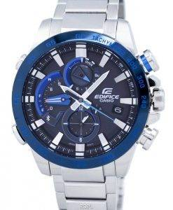Casio Edifice Smartphone Link Dual Time Tough Solar EQB-800DB-1A EQB800DB-1A Men's Watch