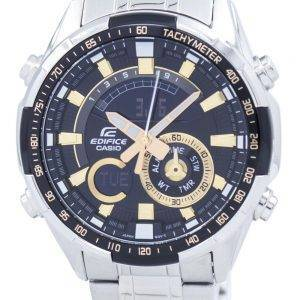 Casio Edifice Chronograph Tachymeter Analog Digital ERA-600D-1A9V ERA600D-1A9V Men's Watch