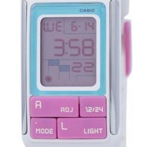 Casio Poptone Dual Time Alarm Digital LDF-51-7C LDF51-7C Women's Watch