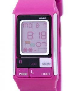 Casio Poptone Dual Time Alarm Digital LDF-52-4A LDF52-4A Women's Watch