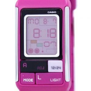 Casio Poptone Dual Time Alarm Digital LDF-52-4A LDF52-4A Women's Watch