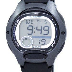 Casio Illuminator Dual Time Alarm Digital LW-200-1BV LW200-1BV Women's Watch