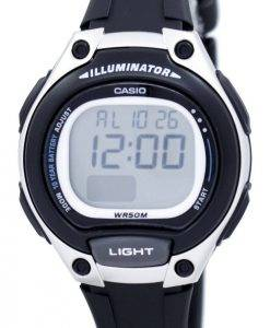 Casio Illuminator Dual Time Alarm Digital LW-203-1AV LW203-1AV Women's Watch