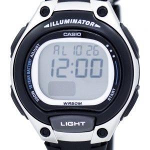 Casio Illuminator Dual Time Alarm Digital LW-203-1AV LW203-1AV Women's Watch