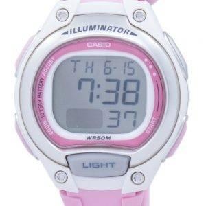 Casio Illuminator Dual Time Alarm Digital LW-203-4AV LW203-4AV Women's Watch