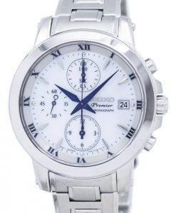 Seiko Premier Chronograph Quartz SNDV71 SNDV71P1 SNDV71P Women's Watch